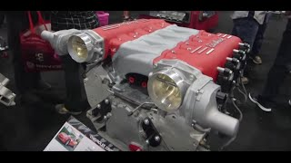 getlinkyoutube.com-SEMA 2015: New LS3 Cross-Ram Intake from Edelbrock