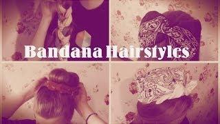 getlinkyoutube.com-Bandana Hairstyles | Haley & Bronwen