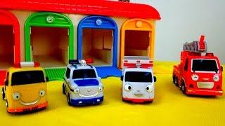 getlinkyoutube.com-Мультики про машинки: Машинки - Помощники! Полицейская машина, Скорая помощь, Пожарная, Эвакуатор