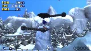 getlinkyoutube.com-Sonic Incursion: Icicle Incline Zone Act 1