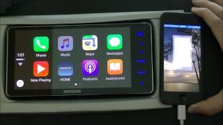 getlinkyoutube.com-Kenwood's Apple CarPlay DDX916WS