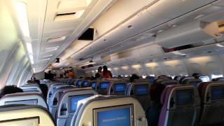 getlinkyoutube.com-Inside Caribbean Airlines Boeing 737 & 767 by jonfromqueens