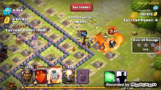 Clash Of Lords 2: Purple Thunder Blade Level 100 on Abyss Demon