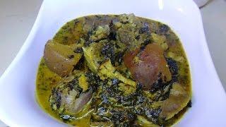 getlinkyoutube.com-How To Make Nigeria Bitterleaf soup (ofe onugbu)