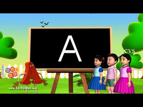 Alphabet songs | Phonics Song | ABC Songs for children - 3D Animation Nursery Rhymes