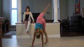 Handstand Press Tutorial Gymnastics Lesson - Learn Handstand Tricks Handstands