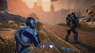 getlinkyoutube.com-Mass Effect Andromeda NEW Characters & Combat Gameplay Trailer