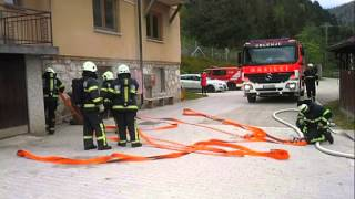 Požrtvovalno delo gasilcev - 10.12.2014