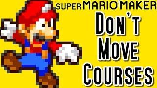 getlinkyoutube.com-Super Mario Maker Top 20 DON'T MOVE Courses (Wii U)