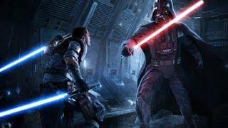 getlinkyoutube.com-Force Unleashed II - Original Starkiller vs Darth Vader - Light Side Ending HD