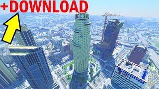 getlinkyoutube.com-Grand Theft Auto 5 in Minecraft. The end?