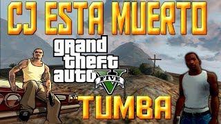 getlinkyoutube.com-GTA 5 CJ Esta Muerto Tumba de CJ
