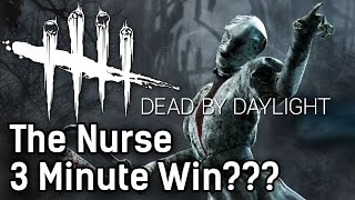 getlinkyoutube.com-Dead By Daylight The Nurse | 3 MINUTE WIN??? | with HybridPanda