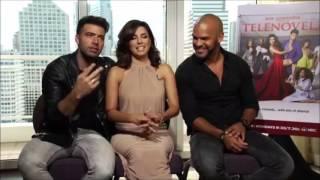 getlinkyoutube.com-Eva Longoria & Jencarlos Canela talk about Telenovela