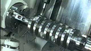 getlinkyoutube.com-Mazak Integrex Machining NASCAR Crankshaft from Solid - Addy Machinery