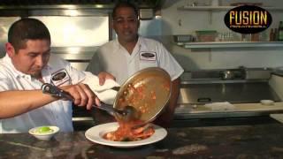"""getlinkyoutube.com-Fusion Peruvian Grill """"Parihuela al estilo Callao"""""""