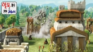 getlinkyoutube.com-클래시 오브 클랜(Clash of Clans) 홀치기 공략 및 팁 (Town Hall Attack & Tip) #16 - [BJ알포]