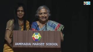 Mrs. Sudha Murty at Jamnabai Narsee Campus