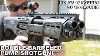 getlinkyoutube.com-Double Barreled Pump Shotgun! DP-12