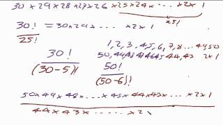 getlinkyoutube.com-Combinations formula explained from the lottery problem