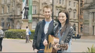 getlinkyoutube.com-Amy Macdonald & Glaswegians - Rhythm of My Heart - XX Commonwealth Games 2014 [Opening Ceremony]