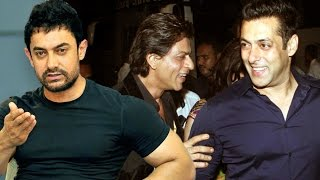 getlinkyoutube.com-Salman Khan & Shahrukh Khan KEEPING SAFE DISTANCE From Aamir