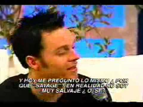 Darren Hayes of Savage Garden Interview in Mexico City (Domingo Azteca)