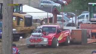 getlinkyoutube.com-2015 OSTPA Super Modified FWD Truck Pull: Tallmadge