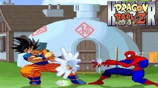 getlinkyoutube.com-Spiderman vs. Dragon Ball Z! [Hyper Dragon Ball Z]