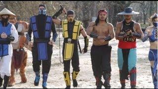 getlinkyoutube.com-Mortal Kombat VS Street Fighter: EPIC DANCE BATTLE!!