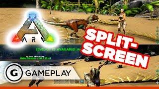 getlinkyoutube.com-ARK: Survival Evolved - X1 Split-Screen Gameplay