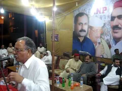 ANP Karachi  Yonas Khan Speech in  Dalmia Ward Public Meeting