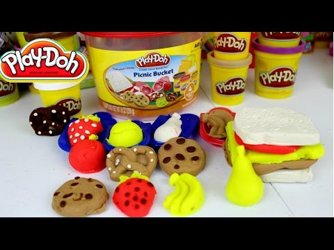 Plastilina Play Doh Picnic Bucket | Juguetes Play Doh en Español