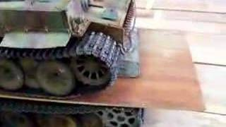 getlinkyoutube.com-IMPACT Transmission Unit, TU3,  Load test タミヤ 1/16RC戦車用