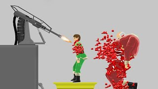 BLOODY AUTOMATIC CHAIN GUN! (HAPPY WHEELS #89)