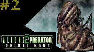 getlinkyoutube.com-Aliens versus Predator 2: Primal Hunt - Predalien Campaign #2 - Mission 2: Body Bags