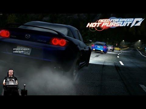Отодрали... :) Need For Speed: Hot Pursuit на руле Fanatec CSL Elite