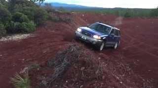 getlinkyoutube.com-Subaru and Nissan | Off road