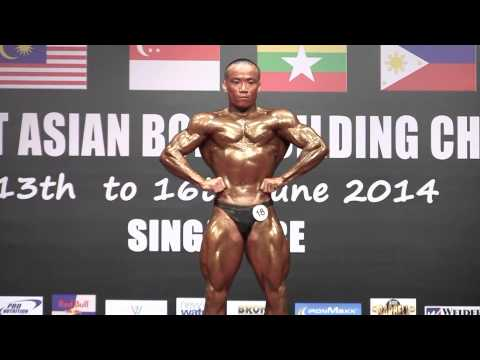 WBPF SEA 2014 (Men's Bodybuilding) - Pham Truong Tho (Vietnam)