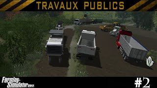 getlinkyoutube.com-Farming simulator 2013 / Episode 2 / TRAVAUX PUBLICS / CARRIÈRE