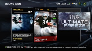 getlinkyoutube.com-SUPER LUCKY PACK OPENING ft BO JACKSON 99 OVR - MUT 15 Pack Opening