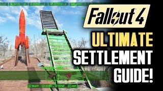 getlinkyoutube.com-Fallout 4 Tips: ULTIMATE SETTLEMENT BUILDING GUIDE! A Walkthrough of Gameplay Features