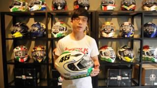 getlinkyoutube.com-รีวิว หมวกกันน๊อค AGV รุ่น K3