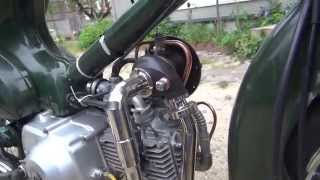 getlinkyoutube.com-HONDA  SUPER  CUB  Turbo  《1》 (タービン専用オイルポンプ + ツインプラグヘッド) 仕様外観