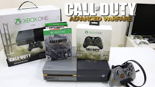 getlinkyoutube.com-Call of Duty Advanced Warfare Limited Edition Xbox One 1TB Bundle Unboxing, Setup & First Look!