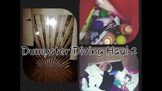 getlinkyoutube.com-Dumpster Dive Haul 2 Old Navy,Bath Body Works,Bed bath and Beyond and randoms
