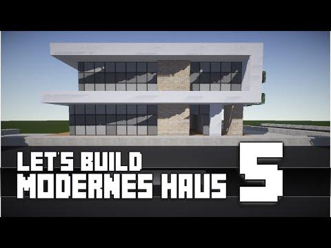 Minecraft :: Modernes Haus Bauen :: German/Deutsch #5