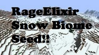 getlinkyoutube.com-1,000 Subscribers! Minecraft Pocket Edition Snow Biome Seed Special!