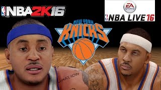 getlinkyoutube.com-NBA 2K16 vs. NBA Live 16 - New York Knicks Player Faces