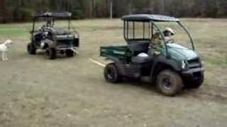 getlinkyoutube.com-Bad Boy Buggy vs. Kawasaki Mule